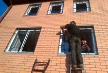 Монтаж решеток в Иркутске