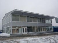 Построить торговые павильоны г.Иркутск